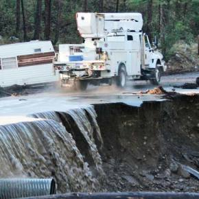 State seeks private property condemnation to continue Highway 153 flood repairs