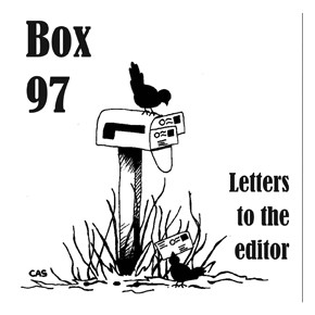 Letters to the editor: April 15, 2015