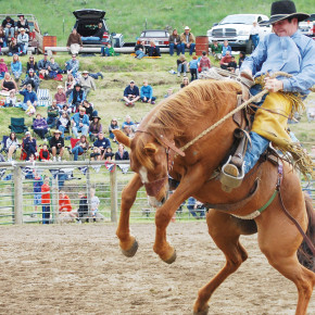 Record crowd attends Memorial Day Rodeo