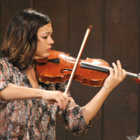 Changing musical styles at chamber music festival