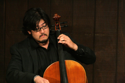 Cellist Paul Wiancko is featured in the next several Chamber Music Festival concerts, including a premiere of his composition for two cellos and piano on Saturday (Aug. 3).