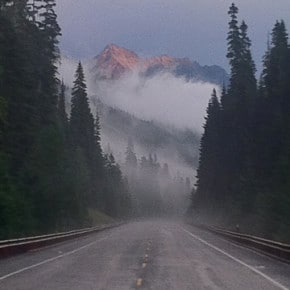 Washington Pass on Aug.4, after a thunderstorm. Photo by Julianna Owens