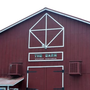 Town, auditorium association reach Winthrop Barn operating agreement