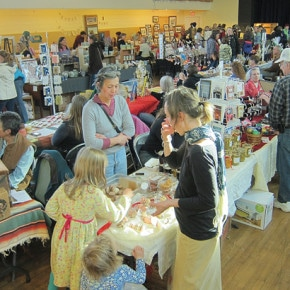 Start shopping locally for the holidays at bazaar this weekend