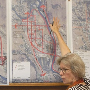 Twisp's town trail plan has 'Friends'