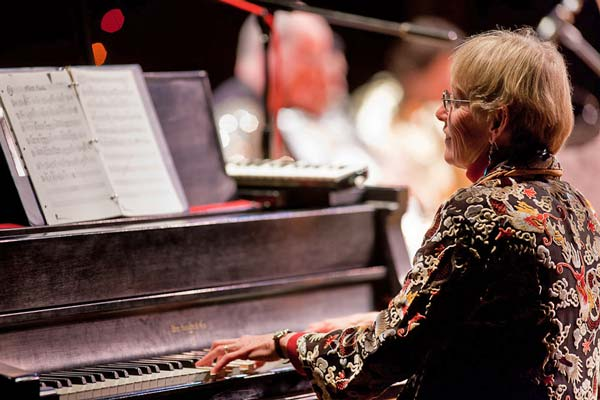 Still jazzed.  Lynette Westendorf and other local musicians appear at The Merc Playhouse on Friday.