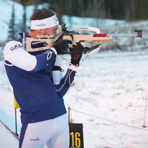 Smith competes at Canmore, leads NorAm series