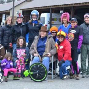 The competitors posed for a group shot. Photo by Laurelle Walsh