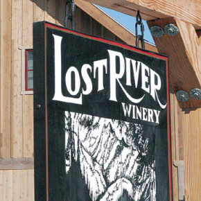 Winning wine for Lost River