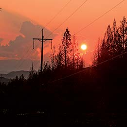 PUD must replace burned power poles before winter