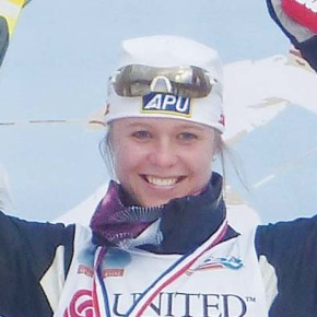 Bjornsen celebrates selection to 2014 Winter Olympics XC Team