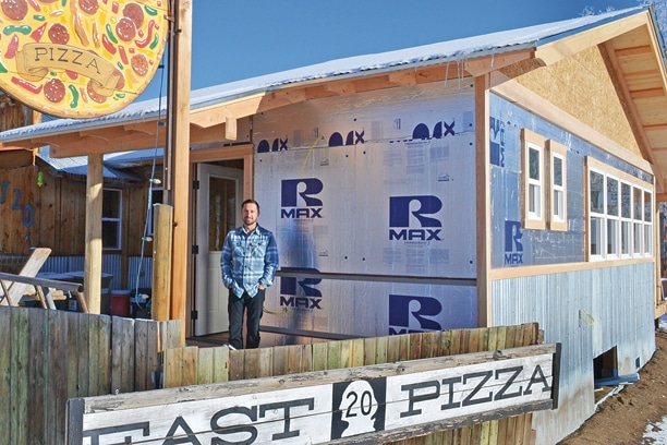 Ryan Clement, owner of East 20 Pizza, has expanded the restaurant several times and has more growth in mind. Photo by Laurelle Walsh