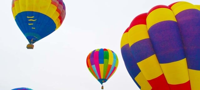 Balloon Roundup gives coming weekend a big lift