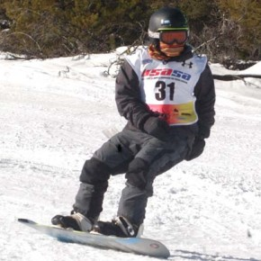 Stiles, Shull lead Loup Snowboard Races