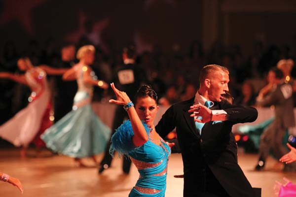 Lots of moves. Ballroom dance competition and performances heat up the Winthrop Barn on Saturday.