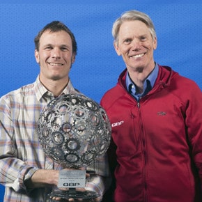 Brown wins national bike advocacy award