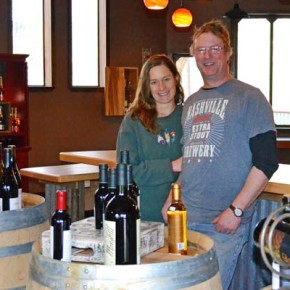 Wine Shed offers tastings