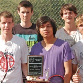 Mountain Lion boys bring home district tennis championship, continue in playoffs