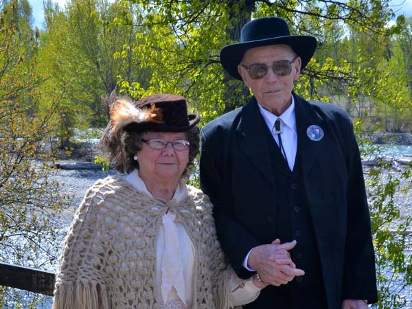 Lois McLean and Ken Westman are '49er Days royalty. Photo by Laurelle Walsh