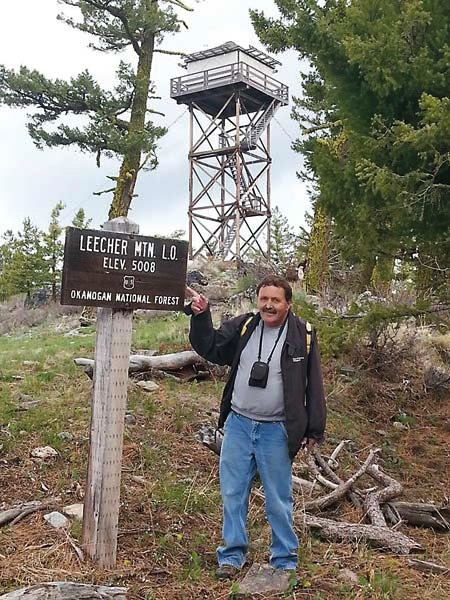 """Lighting Bill"" Austin is moving from Goat Peak to Leecher Mountain this summer. Photo courtesy of Bill Austin"