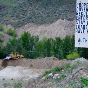 Twisp Mill Site gravel pit begins process of reclamation