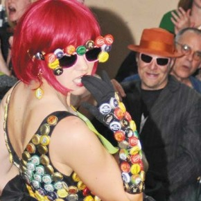 Garbage gets to glitter at Trashion Show