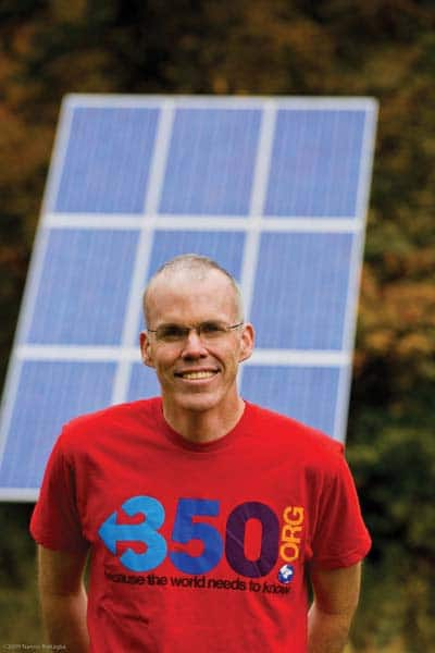Bill McKibben is founder of the climate change organization 350.org.Photo by Nancy Battaglia