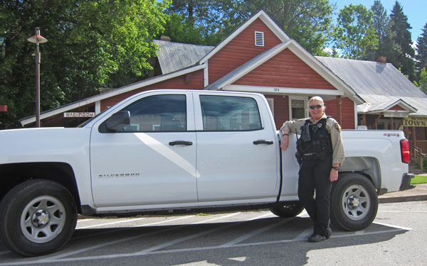 Winthrop's new police vehicles arrived Wednesday (June 18). When all is said and done, the will have specialized equipment and department identification installed. Photo by Don Nelson