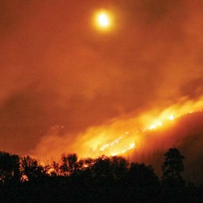 Unprecedented conditions whipped up the Carlton Complex Fire