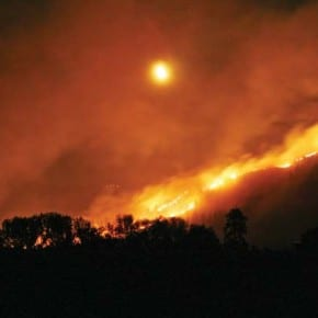 County loses at least $28 million in property value from wildfires