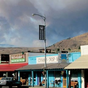 Firestorm rips through valley, leaving damage and despair
