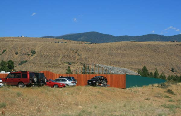 Methow Valley Nursery expects to get a license to grow marijuana in a commercial/industrial zone outside Winthrop. Photo by Marcy Stamper