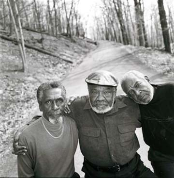 The Holmes Brothers. Photo by Mary Ellen Mark