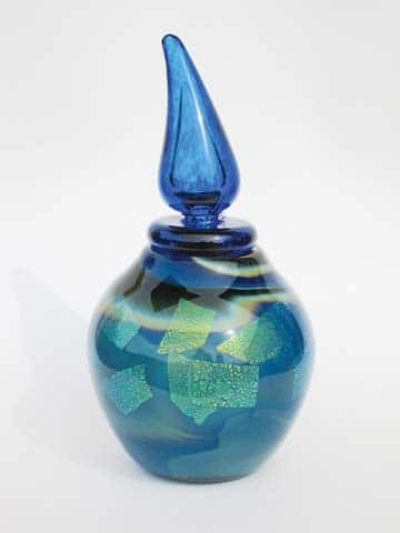 Laura Aspenwall 's blown glass works will be on exhibit at the Winthrop Gallery. Photo courtesy Winthrop Gallery