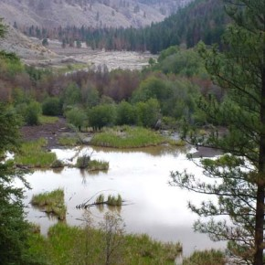 Wenner Lake dams fail in heavy storm