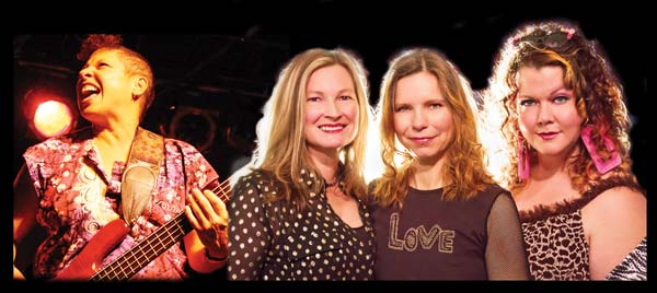Laura Love (left) and Big Bad Gina will be in concert next Wednesday (Aug. 27). Photo courtesy of McFaul Booking & Management