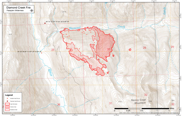 Map Courtesy Of The U S Forest Service To View A Larger Version Click The Graphic To Open In A New Window To View An Interactive Google Maps View Of The