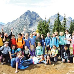 Sixth-graders carry on tradition of annual campout