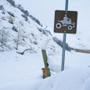 Funding for ATV signage not available from state program