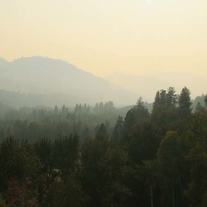 Wildfire smoke causes air quality problems in Methow Valley