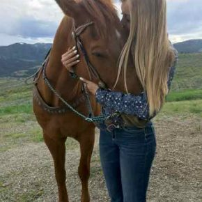 For 2018 rodeo queen, horses are her 'first love'