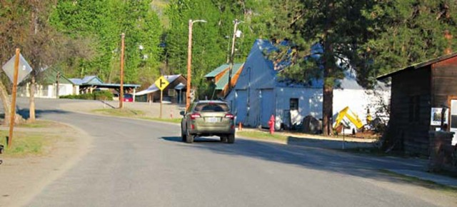 Bluff Street work will hold up traffic in Winthrop much of May, June, July