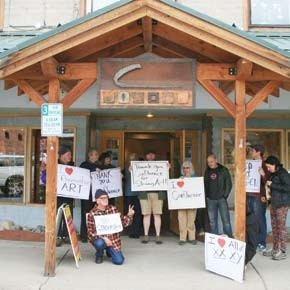 Artists rally to support Confluence exhibit