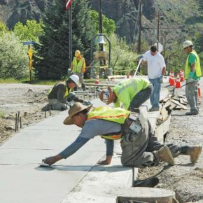 Several construction projects underway in Twisp