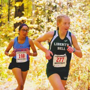 Lady Lions take the trophy at Leavenworth XC Invitational meet