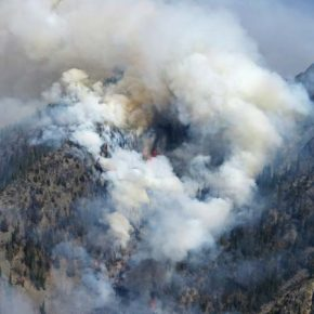 Diamond Creek Fire continues to wind down; repairs underway