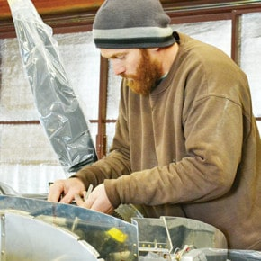 Building an airplane, one rivet at a time