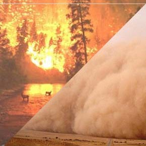 Summer forecast: dust storms, wildfires
