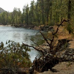 Methow River's steady erosion threatens Community Covenant Church in Twisp