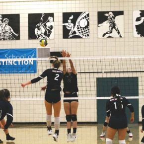 LBHS falls just short in volleyball showdown